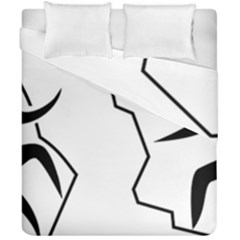 Mountaineering Climbing Pictogram  Duvet Cover Double Side (california King Size) by abbeyz71