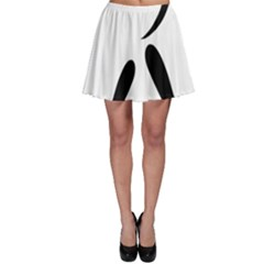 American Football Pictogram  Skater Skirt by abbeyz71