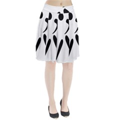 American Football Pictogram  Pleated Skirt by abbeyz71