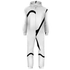 Angling Pictogram Hooded Jumpsuit (men)  by abbeyz71