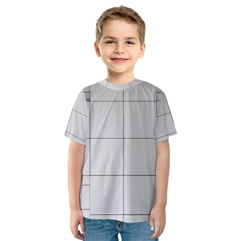 Abstract Architecture Contemporary Kids  Sport Mesh Tee by Amaryn4rt
