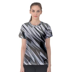 Abstract Background Geometry Block Women s Sport Mesh Tee by Amaryn4rt