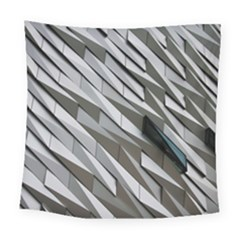 Abstract Background Geometry Block Square Tapestry (large)