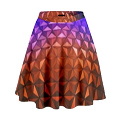 Abstract Ball Colorful Colors High Waist Skirt by Amaryn4rt