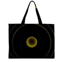 Abstract Futuristic Lights Dream Zipper Mini Tote Bag by Amaryn4rt