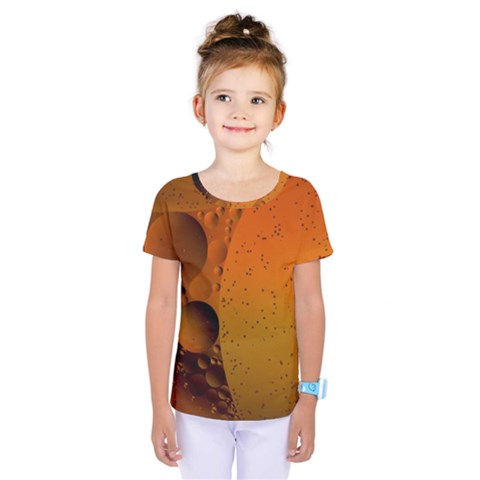 Abstraction Color Closeup The Rays Kids  One Piece Tee by Amaryn4rt