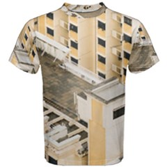 Apartments Architecture Building Men s Cotton Tee