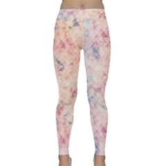 Pastel Diamond Classic Yoga Leggings by Brittlevirginclothing