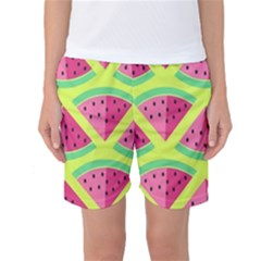 Lovely Watermelon Women s Basketball Shorts by Brittlevirginclothing