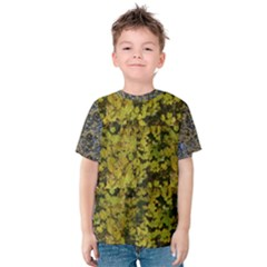 Vermont Autumn Leaves Kids  Cotton Tee