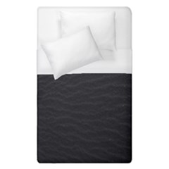 Black Pattern Sand Surface Texture Duvet Cover (single Size)