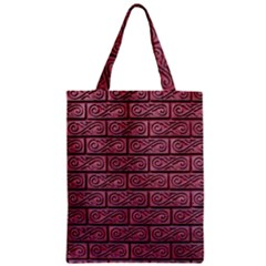 Brick Wall Brick Wall Zipper Classic Tote Bag