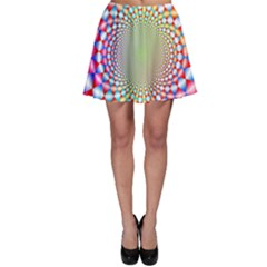 Color Abstract Background Textures Skater Skirt by Amaryn4rt