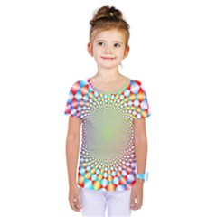 Color Abstract Background Textures Kids  One Piece Tee