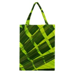Frond Leaves Tropical Nature Plant Classic Tote Bag by Amaryn4rt