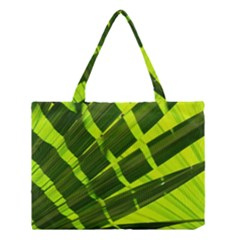 Frond Leaves Tropical Nature Plant Medium Tote Bag