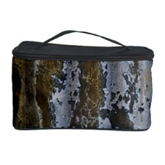 Grunge Rust Old Wall Metal Texture Cosmetic Storage Case by Amaryn4rt