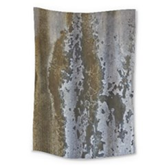 Grunge Rust Old Wall Metal Texture Large Tapestry by Amaryn4rt