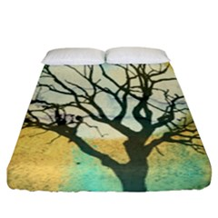 A Glowing Night Fitted Sheet (king Size)