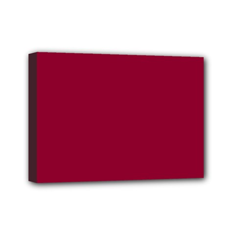 Deep Red Mini Canvas 7  X 5  by Valentinaart