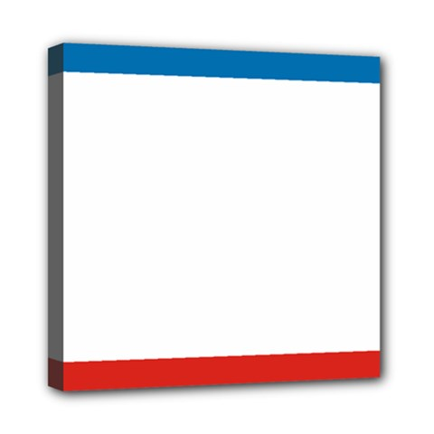 Flag Of Crimea Mini Canvas 8  X 8  by abbeyz71