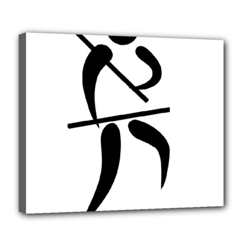 Arnis Pictogram Deluxe Canvas 24  X 20   by abbeyz71