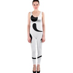 Assault Course Pictogram Onepiece Catsuit by abbeyz71