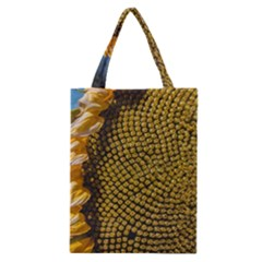 Sunflower Bright Close Up Color Disk Florets Classic Tote Bag by Amaryn4rt