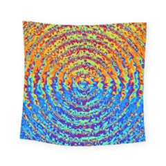 Background Color Game Pattern Square Tapestry (small)