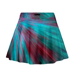 Background Texture Pattern Design Mini Flare Skirt by Amaryn4rt