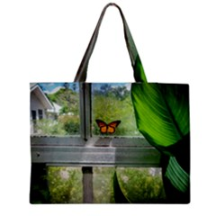 Butterfly #17 Medium Zipper Tote Bag by litimages