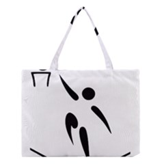 Aéroball Pictogram Medium Tote Bag by abbeyz71