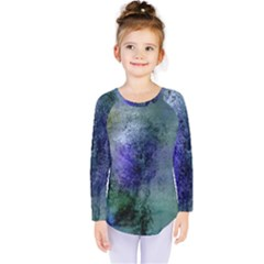 Background Texture Structure Kids  Long Sleeve Tee by Amaryn4rt
