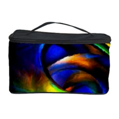Light Texture Abstract Background Cosmetic Storage Case by Amaryn4rt