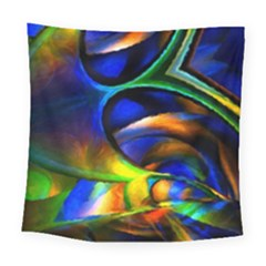 Light Texture Abstract Background Square Tapestry (large)