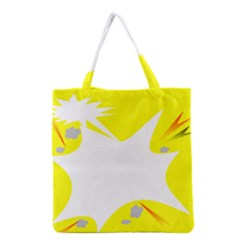 Mail Holyday Vacation Frame Grocery Tote Bag