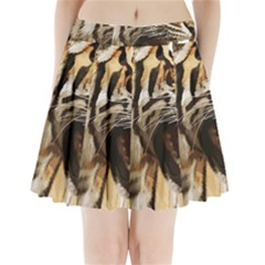 Royal Tiger National Park Pleated Mini Skirt