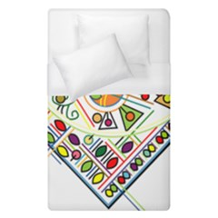 Vector Icon Symbol Sign Design Duvet Cover (single Size) by Amaryn4rt