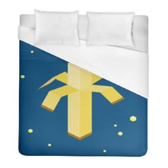 Banana Space Duvet Cover (full/ Double Size) by Jojostore