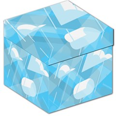 Blue Sky Storage Stool 12