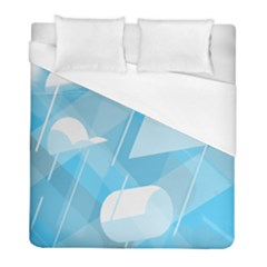 Blue Sky Duvet Cover (full/ Double Size)