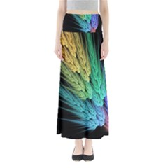 Abstract Fractal Maxi Skirts