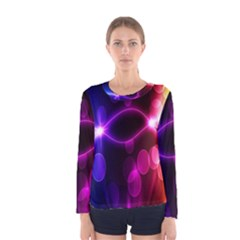 Circle Color Women s Long Sleeve Tee by Jojostore