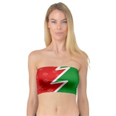 Christmas Tree Bandeau Top