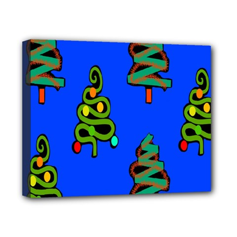 Christmas Trees Canvas 10  X 8  by Nexatart