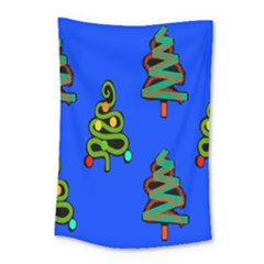Christmas Trees Small Tapestry