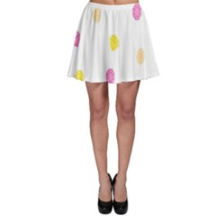 Diamond Pink Yellow Skater Skirt