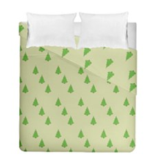 Christmas Wrapping Paper Pattern Duvet Cover Double Side (full/ Double Size) by Nexatart