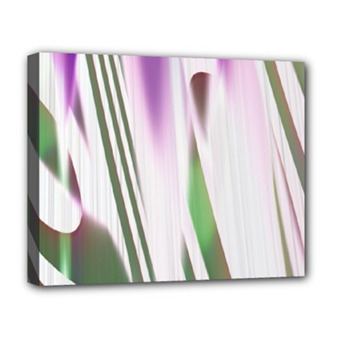 Colored Pattern Deluxe Canvas 20  X 16   by Nexatart
