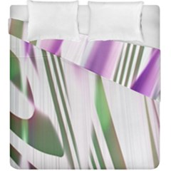 Colored Pattern Duvet Cover Double Side (king Size) by Nexatart